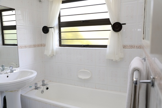 Standard Double Room #3 - bathroom with bath and shower