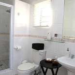 Standard Double Rooms # 2,4,5,6 - bathroom with shower
